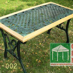 鑄鐵花園桌