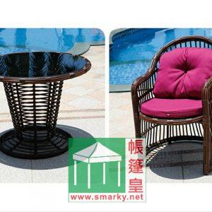 藤藝桌椅 – BTEA076