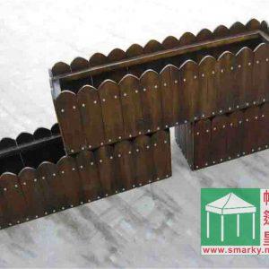 環保木花箱 YL-HX0005
