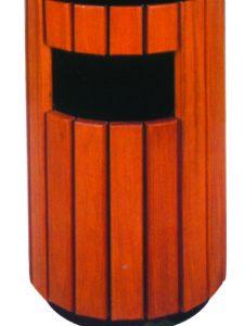 環保木垃圾桶007