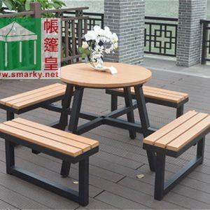 環保木桌椅組合 – OFC090