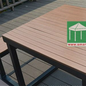環保木桌椅組合-OFS158