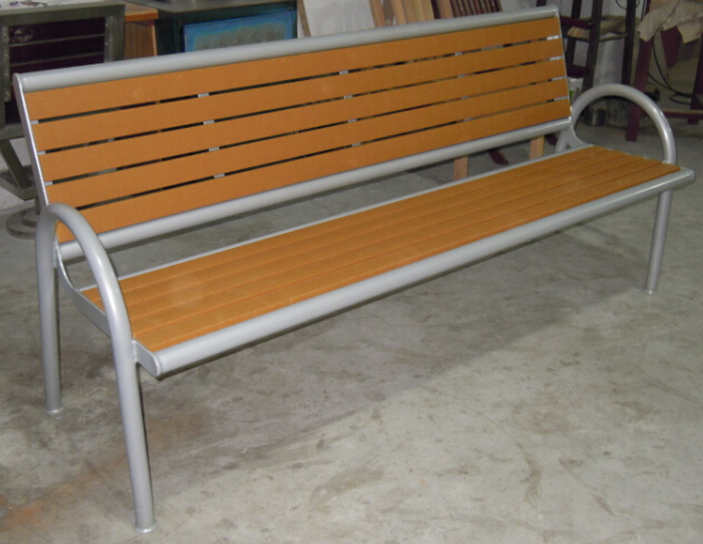 環保木公園長椅-有靠背- XBB-44