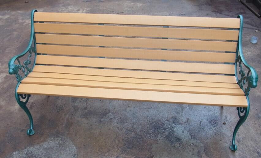 環保木公園長椅-有靠背-XBB-58H