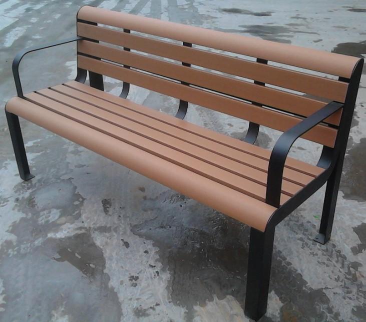 環保木公園長椅-有靠背- XBB-62