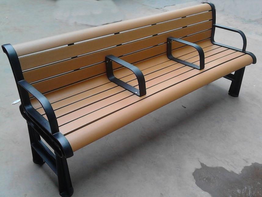 環保木公園長椅-有靠背- XBB-63