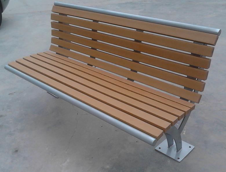 環保木公園長椅-有靠背- XBB-67