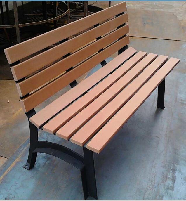 環保木公園長椅-有靠背- XBB-69