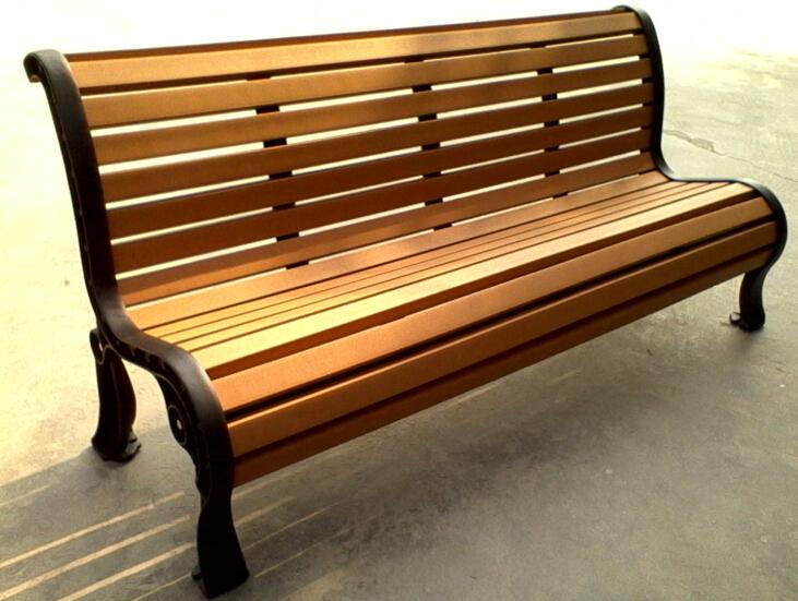 環保木公園長椅-有靠背- XBB-70