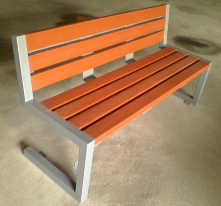 環保木公園長椅-有靠背- XBB-71