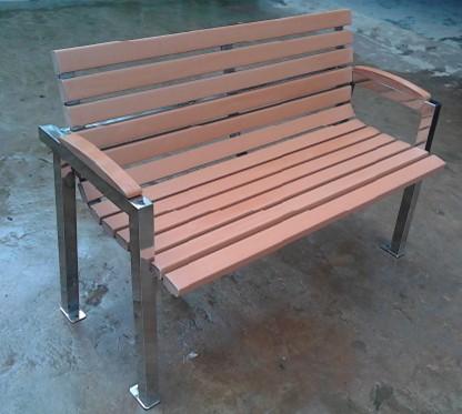 環保木公園長椅-有靠背- XBB-72