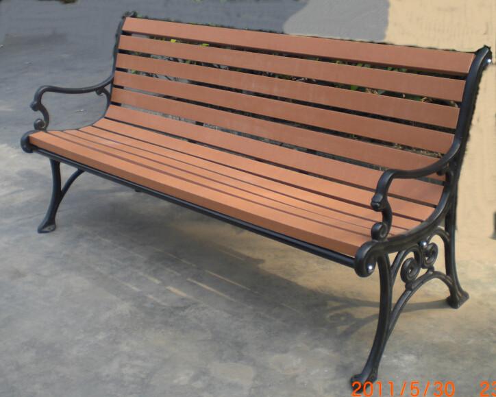 環保木公園長椅-有靠背- XBB-74
