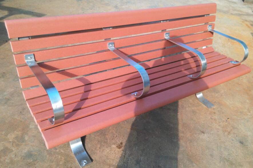 環保木公園長椅-有靠背- XBB-75