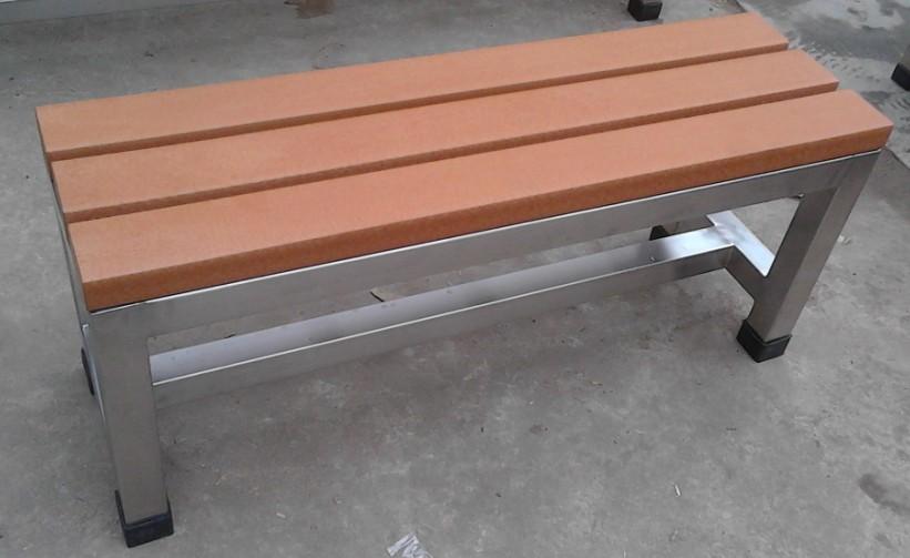 環保木公園長椅-無靠背-XBB-60A