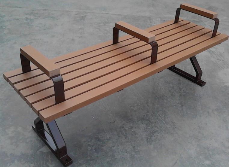 環保木公園長椅-無靠背-XBB-61