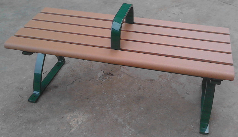 環保木公園長椅-無靠背-XBB-64
