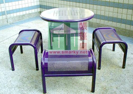 金屬桌椅 - XBW-206
