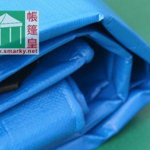 藍面銀底遮陽布