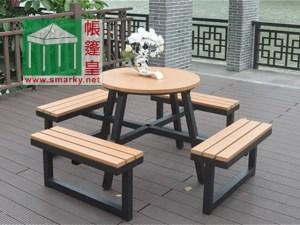 環保木桌椅組合-OFC090-2
