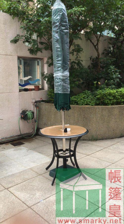 3米花園傘安裝圖-1