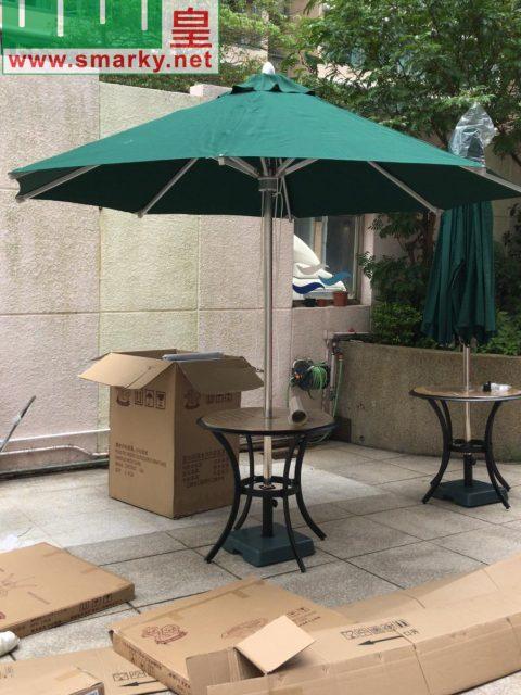 3米花園傘安裝圖-2