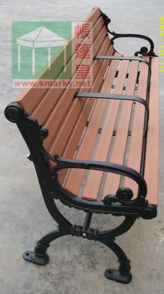 環保木公園長椅-XBB-68B-中間有扶手