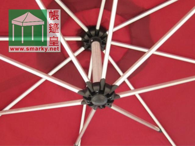 2.7米鋁合金弓型花園傘-3